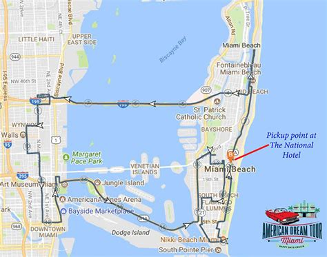 2 Hour Tour Miami Beach and Wynwood in Classic Car
