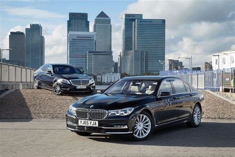 Mercedes-Benz S Class takes on new BMW 7 Series   London