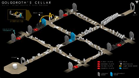 3D illustration of Golgoroth's Cellar from King's Fall