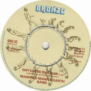 MANFRED MANN'S EARTH BAND Davy's On The Road Again reviews