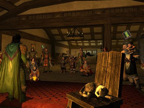 Story telling in the Prancing Pony - MMORPG