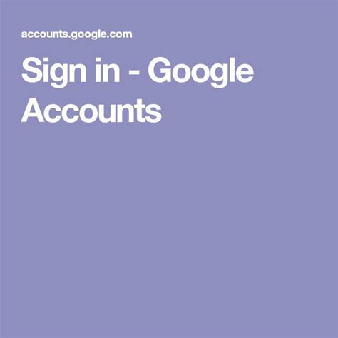 Sign in - Google Accounts | Accounting, Google account, Signs