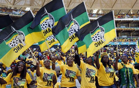 And the ANC candidates are