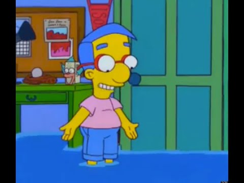 The Simpsons Milhouse Venting - YouTube