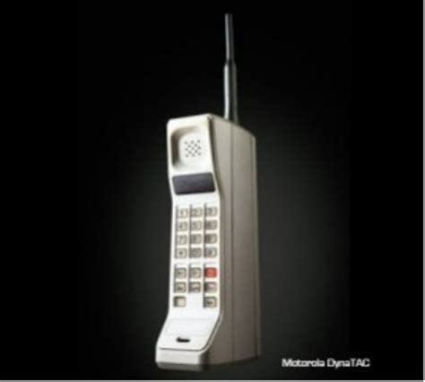 History of cell phones timeline   Timetoast timelines