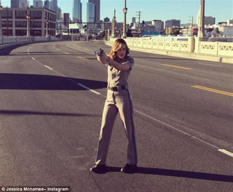 Jessica McNamee 'crashes her new car' and while driving in