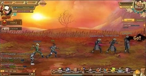 Brand new browser MMO Ultimate Naruto begins its Open beta