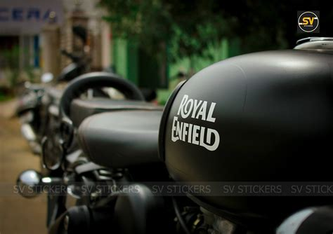 Royal Enfield Classic 350 Stealth Black Edition by SV