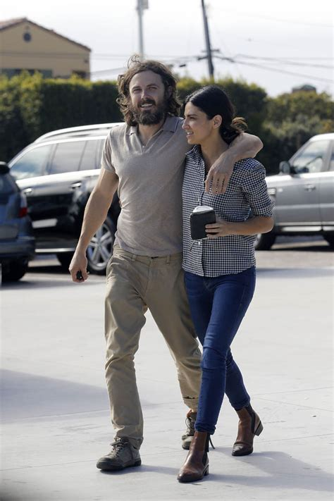 Casey Affleck out in Malibu with new girlfriend, Floriana