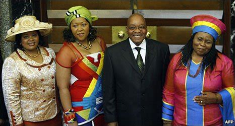 South Africa President Jacob Zuma Marries Third Wife