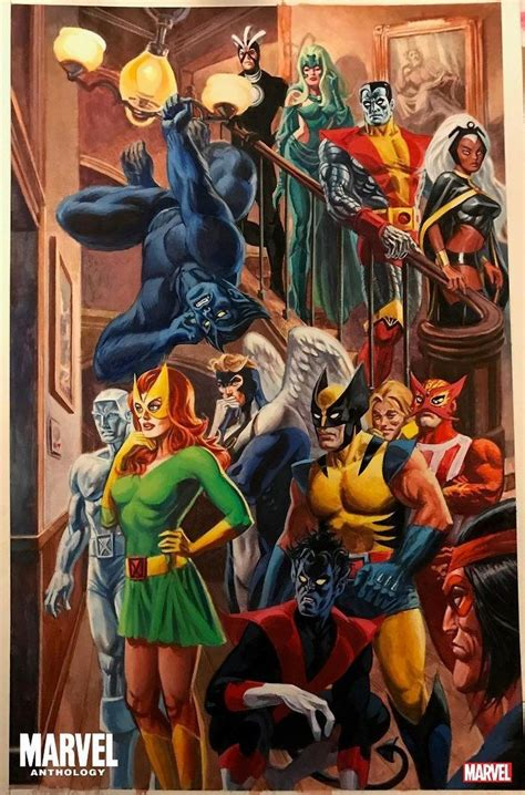ALEX ROSS to Curate MARVEL Anthology Series in 2020 (mit