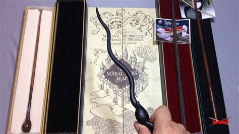 wands noble collection lupin wormtail sirius james