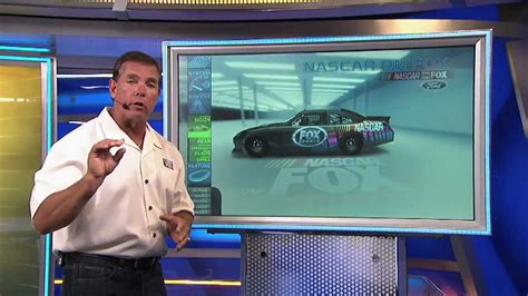Jeff Hammond and the Ford Racing Tech Car at Charlotte