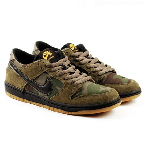 Nike SB Dunk Low Pro Olive-Camo - Forty Two Skateboard Shop