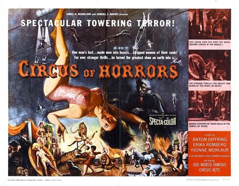 Gruesome Galleries: 1960's CIRCUS OF HORRORS - ComingSoon