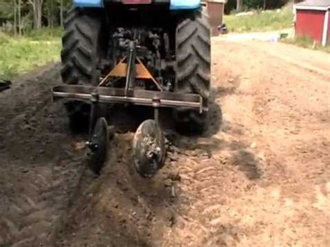 Part 1 - Home made tractor attachment hiller row bed maker