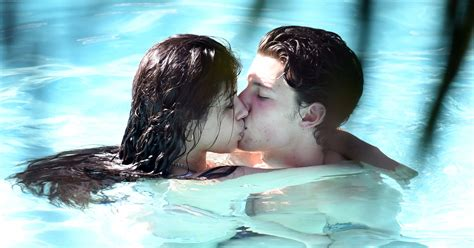 Shawn Mendes and Camila Cabello Makeout in Miami Pool: Photos