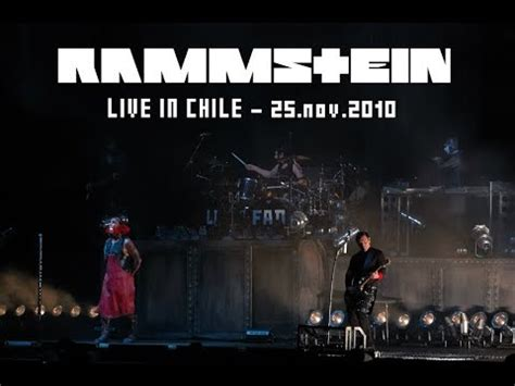 Rammstein Live in Chile 2010   Full Show Multicam HD - YouTube