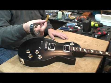 2013 Gibson Les Paul 50's Tribute: Faux Binding and Chrome
